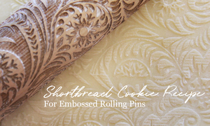 Shortbread Cookie Recipe For Embossed Rolling Pin