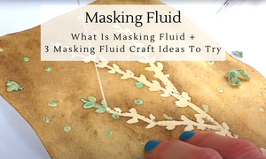 What is masking fluid