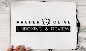 Archer & Olive | Unboxing And Review