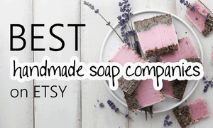 best handmade soap on Etsy
