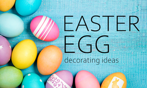 You can decorate your Easter eggs with markers, pens, paints, stickers and more! Easter egg decorating ideas for you here!