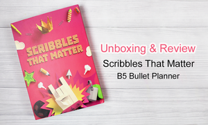 Scribbles That Matter B5 Bullet Planner | A Look Inside