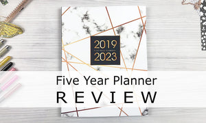 Five Year Planner Review | Illustrated Guide With Video Unboxing