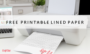 lined paper printables