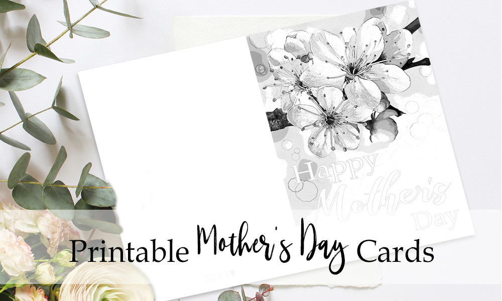 picture about Printable Mothers Day Cards to Colour in identified as Moms Working day Printable Playing cards Fresh new Releases Free of charge For