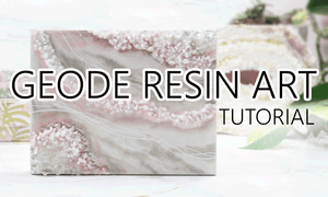 geode resin art tutorials