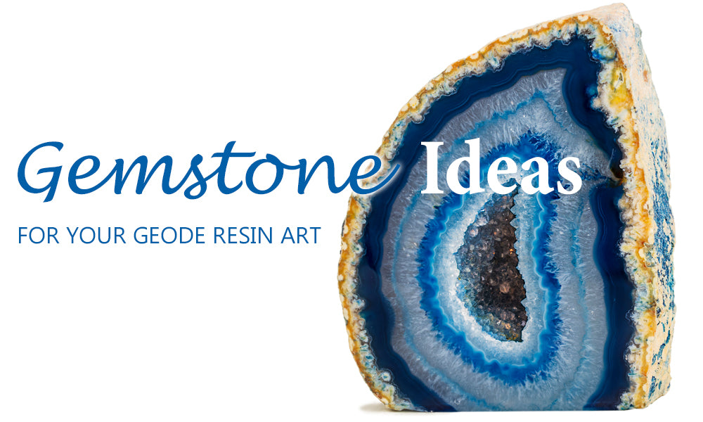 BEST Gemstone & Crystal Ideas To Add To Or Use For Geode