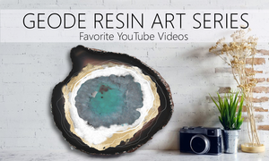 best geode resin art tutorials on YouTube!