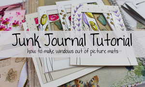 junk journal page ideas tutorials