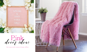 Pink | Office And Craft Room Decor Ideas