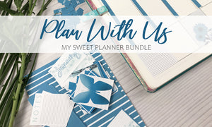 Plan with us | Planner ideas and inserts
