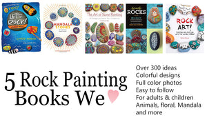 Best rock painting ideas in rock painting books