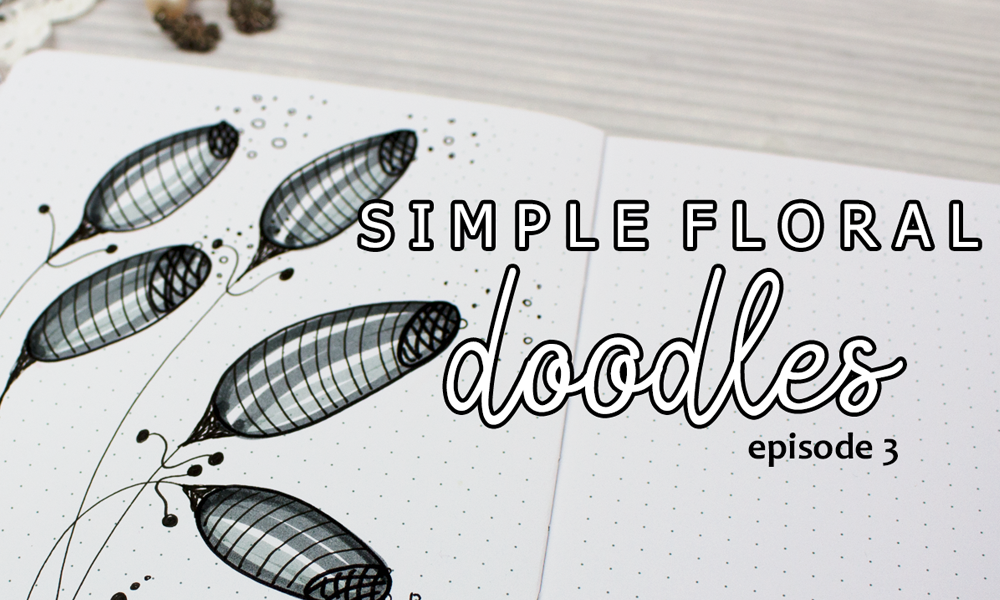 How To Draw Whimsical Flowers | Simple Floral Doodles Episode 3