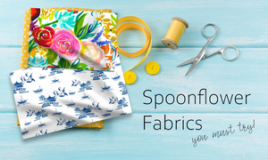 best spoonflower fabrics