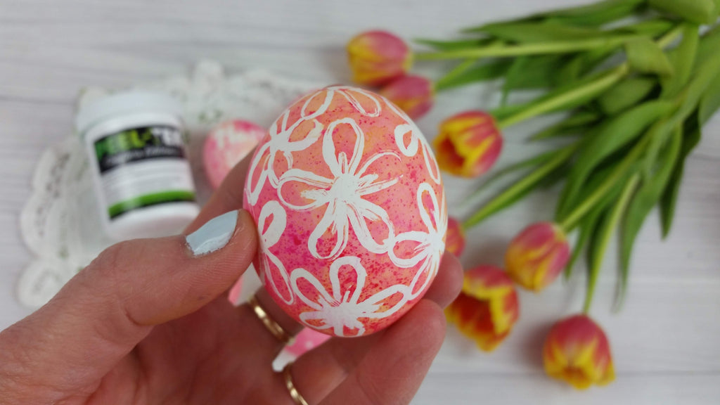 How To Use Masking Fluid On Easter Eggs