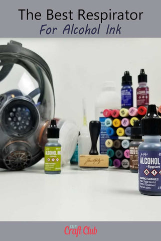 Respirator For Alcohol Ink