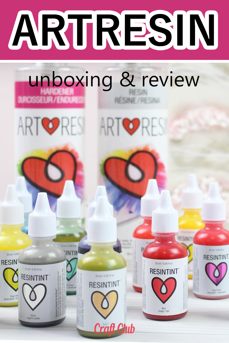 ArtResin review and unboxing