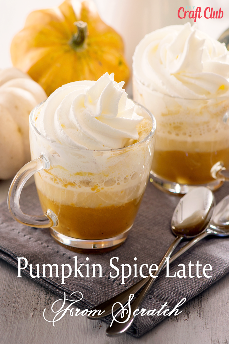 Pumpkin Spice Latte Recipe From Scratch