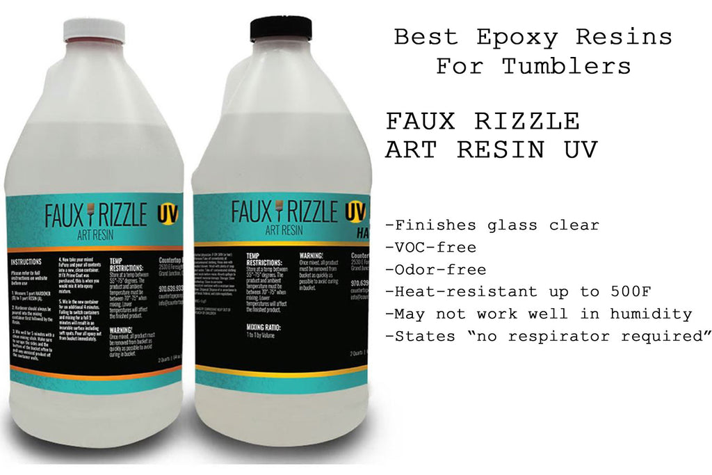 Best Epoxy Resins For Tumblers