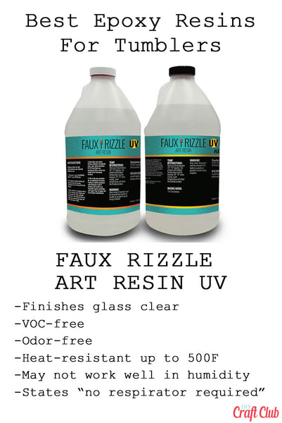 Best Epoxy Resin For Tumblers