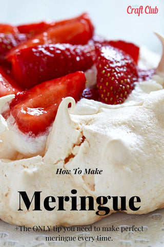 How To Make Perfect Meringue