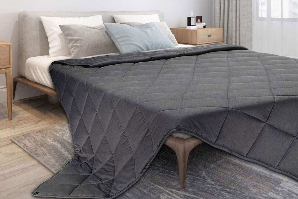 Weighted blanket for her from Amazon for Valentine's Day
