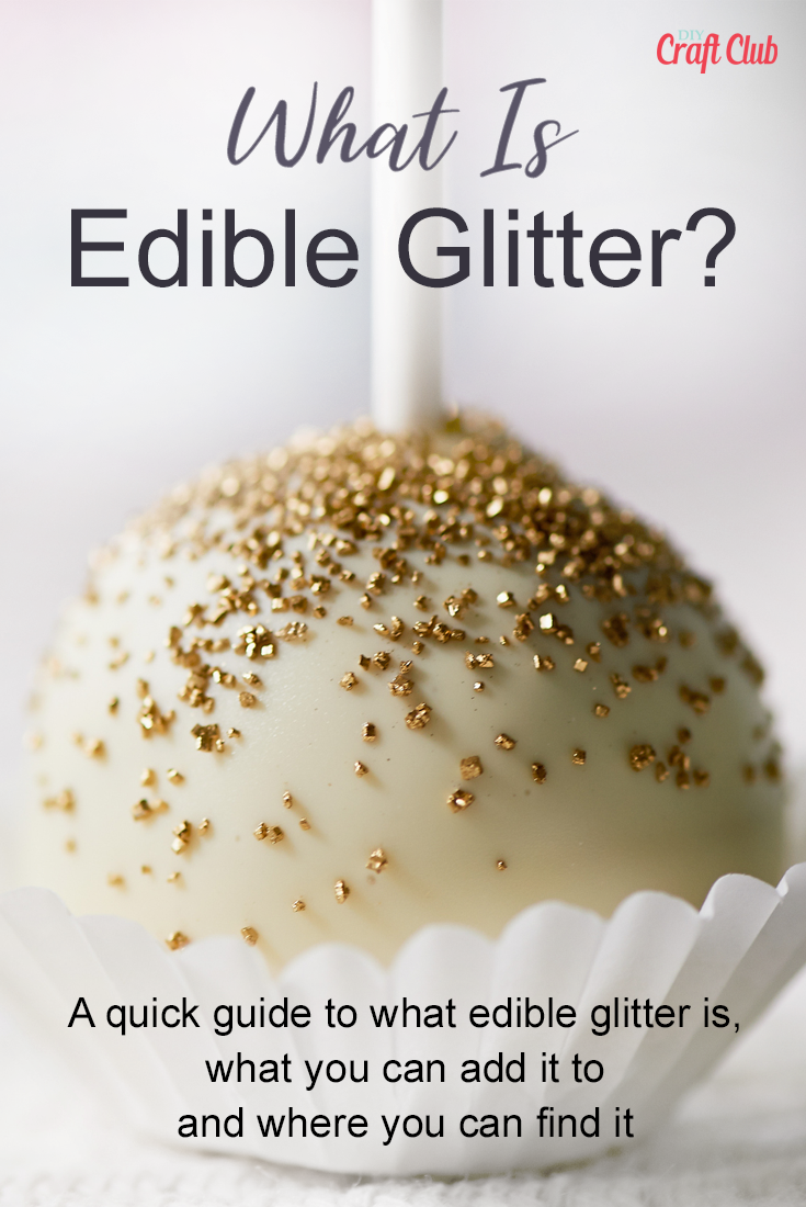 What Is Edible Glitter