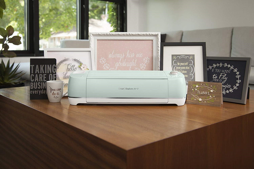 Cricut air 2 in mint color for classrooms for teachers and arts and crafts
