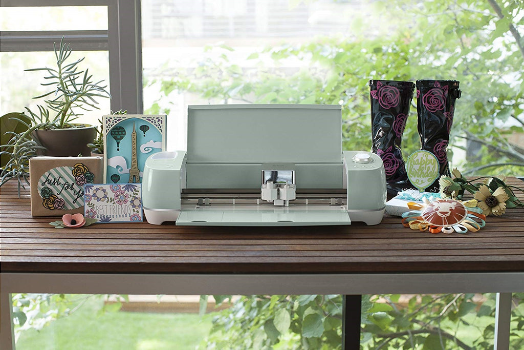 Cricut 2 air cutter in mint green turquoise aqua for card making and scrapbooking