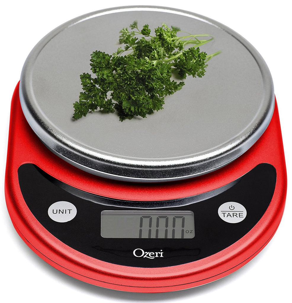 Use this kitchen weigh scale for accuracy in all recipes!