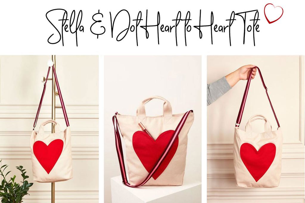 Love tote for her Valentine's Day gift