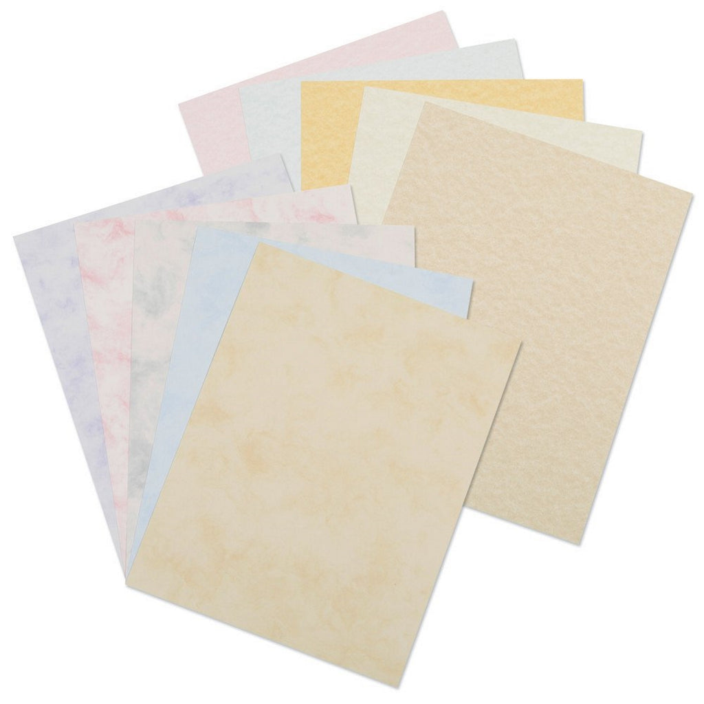 Decorative printer paper for card making