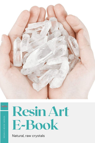 Crystals for resin