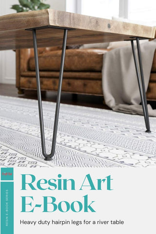 Resin table accessories