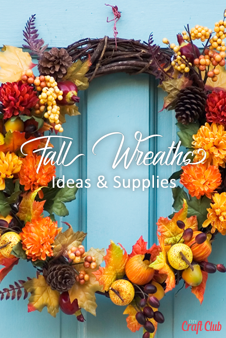 Fall Wreath Ideas And Supplies