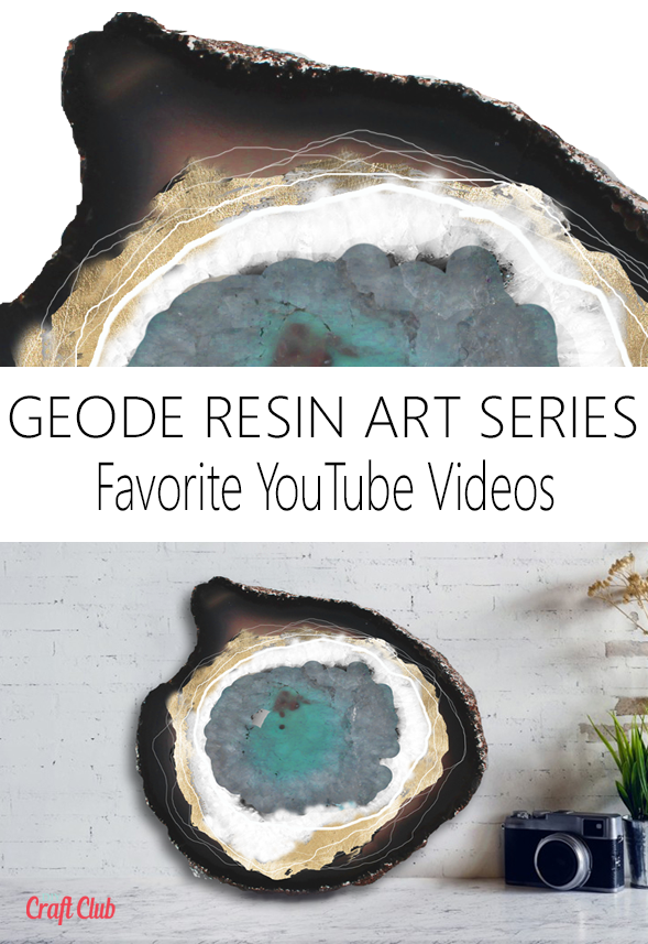 How to make geode resin art