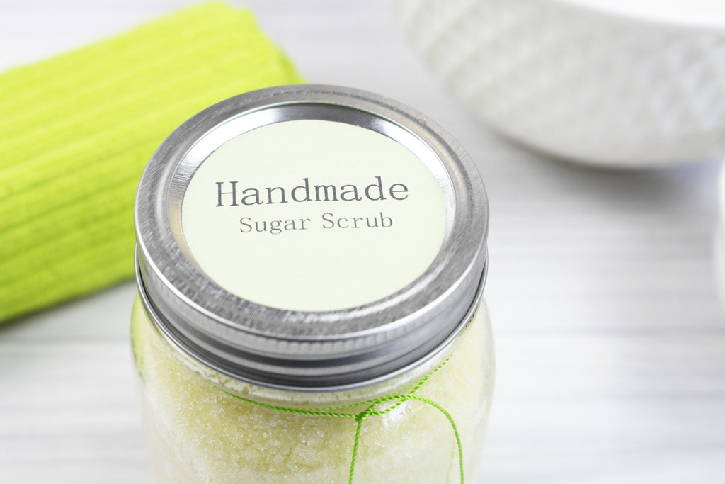 How to make sugar scrub easy recipe