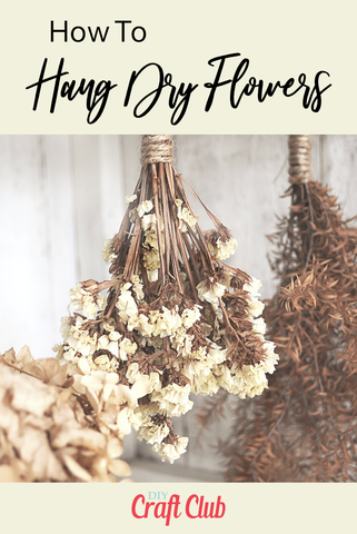 How To Hang Dry Flowers