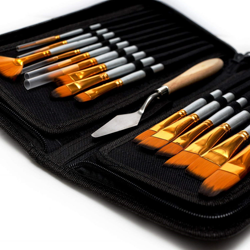 High Quality Brush Painting Set With Case