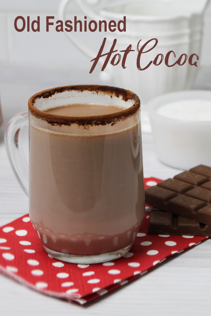 Homemade Old Fashioned Hot Cocoa