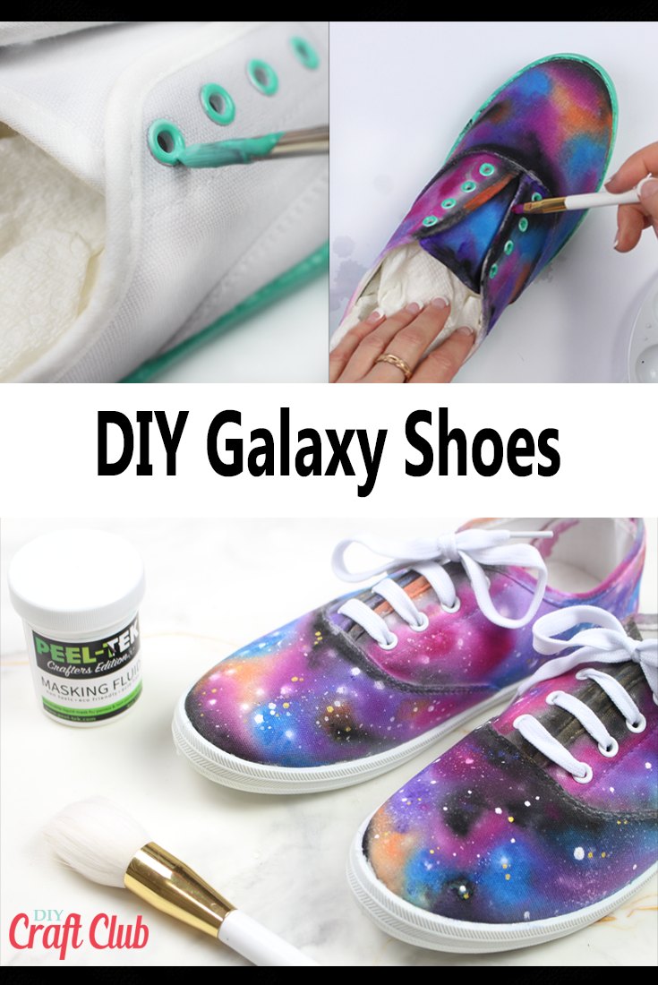 How To Use Masking Fluid With Watercolors On Shoes