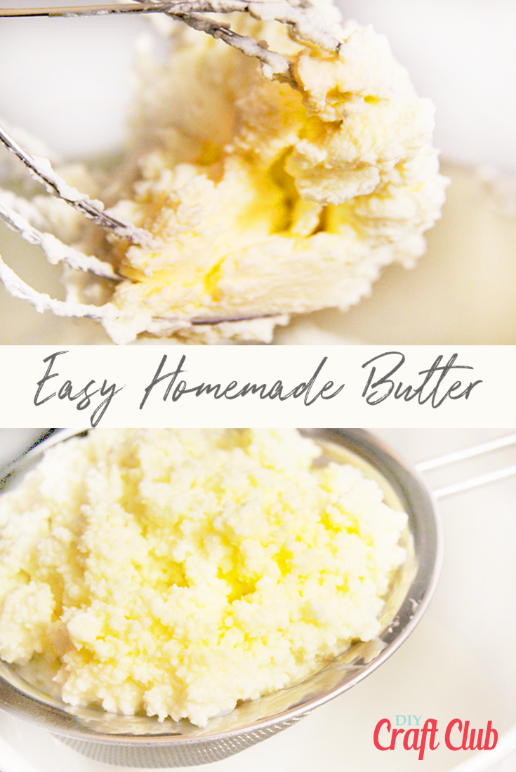 Easy homemade butter recipe