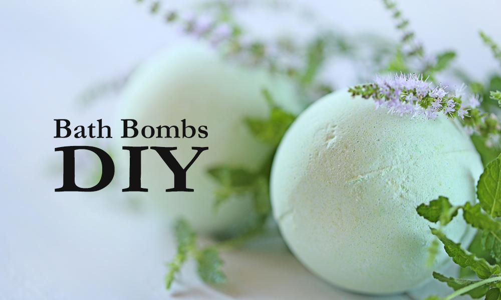 how to make your own bath bombs