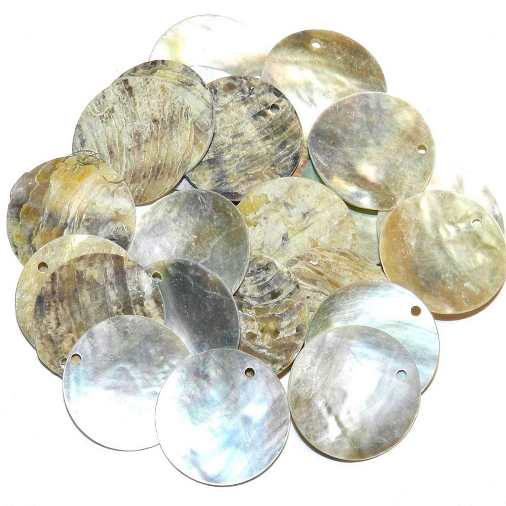 Bulk shells for arts and craft projects and geode resin art and glitter pours
