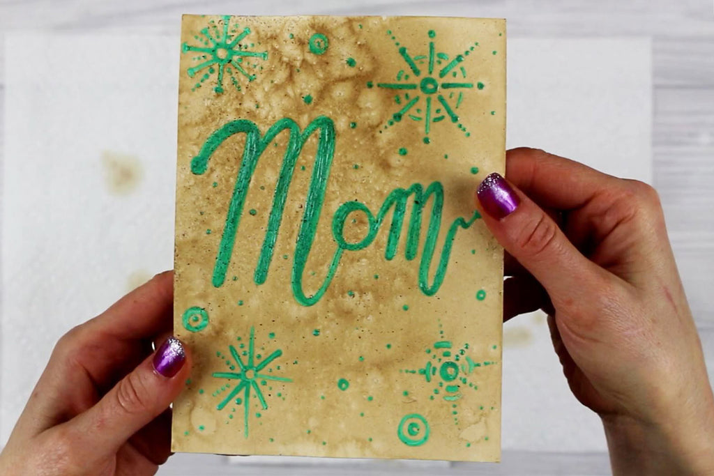 Masking Fluid For Christmas Crafts