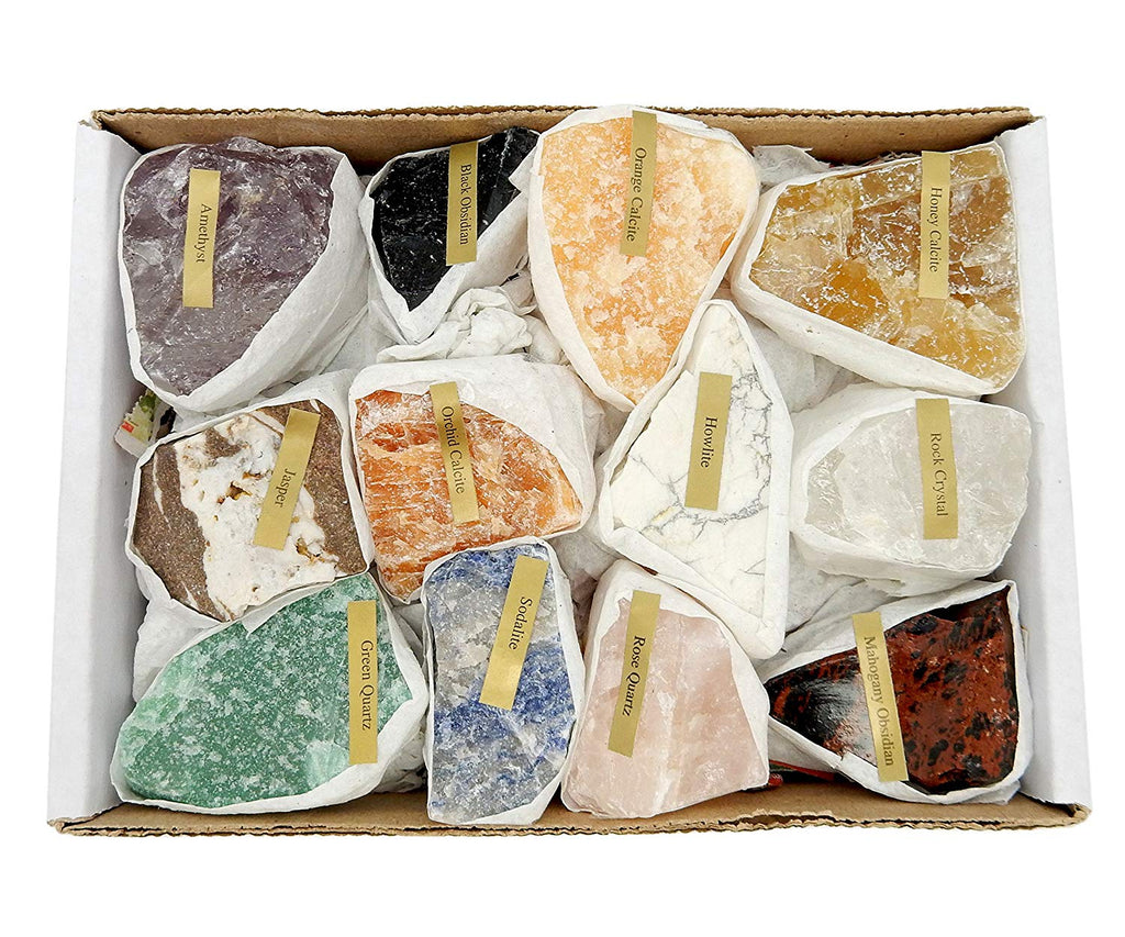bulk natural gemstones that you can smash to add a realistic effect to your geode resin art