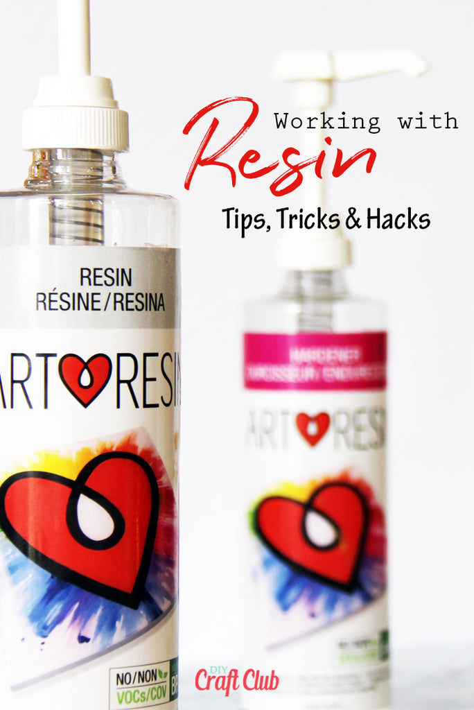 Here are the best tips tricks and hacks for working with resin