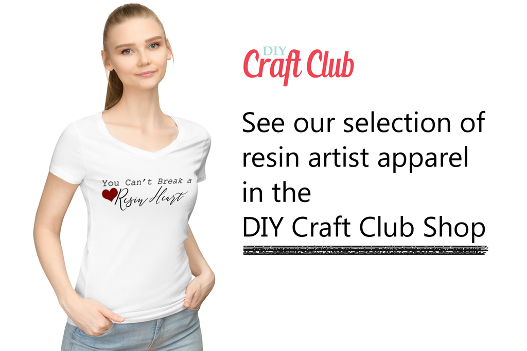 Check out our line of resin artist apparel right here!