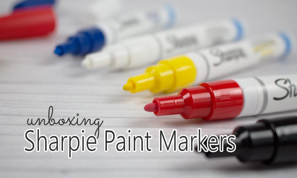 Review and Unboxing of Sharpie Paint Markers