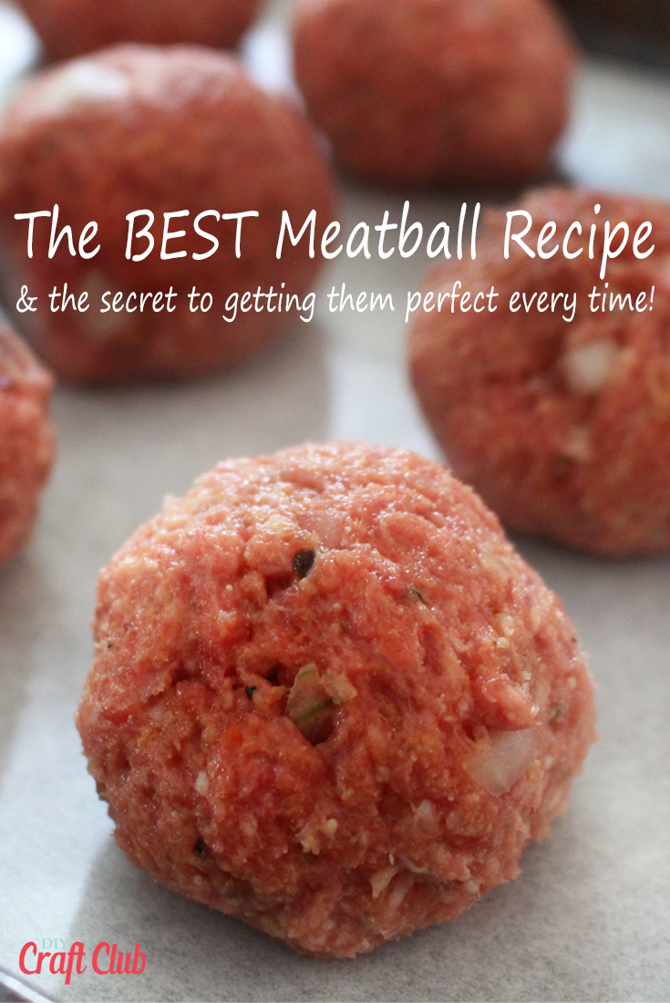 The SECRET To Making The Best Meatballs